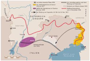 Italien 1917 und 1918