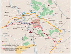 Schlacht bei Verdun 1916