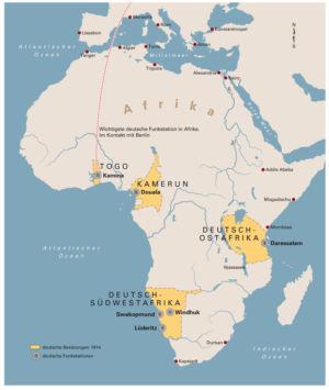 Deutsche Kolonien in Afrika