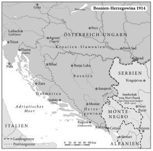 Bosnien-Herzegowina 1914