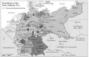 Deutsches Reich vor dem Ersten Weltkrieg 1914