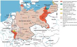 Deutsches Reich nach dem Versailler Vertrag