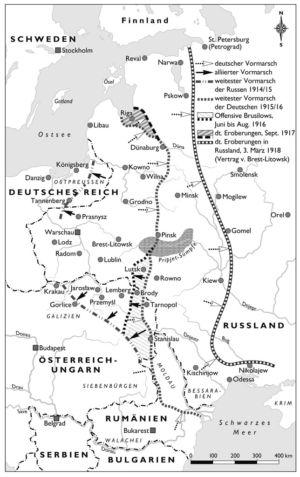 Ostfront von 1914 bis 1918