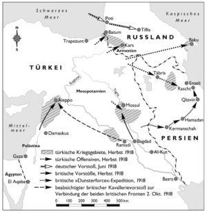Naher Osten 1918