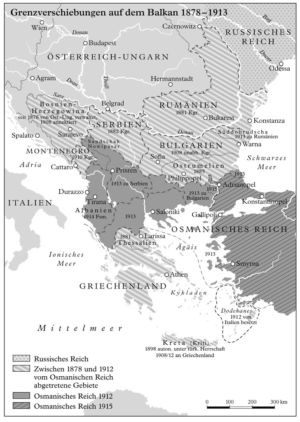 Balkan 1878 bis 1913