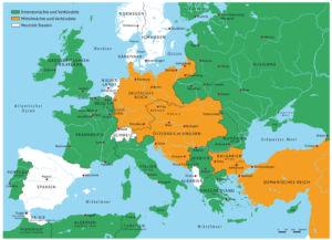 Europa während des Ersten Weltkriegs