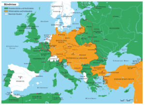 Europe and the fronts
