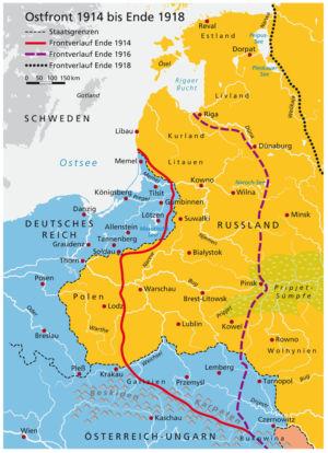 Ostfront 1914 bis 1918