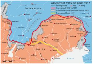 Südfront 1915 bis 1917