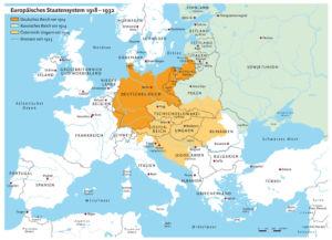 Europe 1914–1932