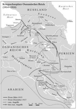 Krieg an der Osmanischen Ostgrenze 1914 bis 1918