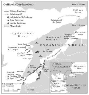 Krieg bei den Dardanellen