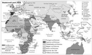 Staatenwelt nach 1918