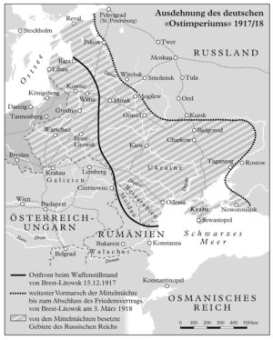 Ostfront 1917 und 1918