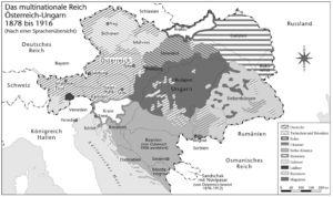 Österreich-Ungarn 1878 bis 1916