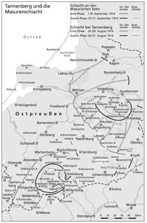 Schlacht bei Tannenberg und an den Masurischen Seen