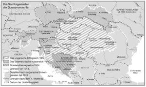 Österreich-Ungarn 1914 bis 1918