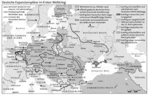 Expansionspläne der Deutschen 1914
