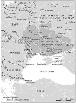 Ukrainische SSR 1917 bis 1921