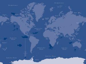Welt und Meere