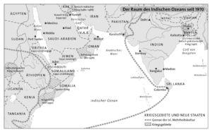 Indischer Ozean 1970