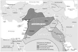 Sykes-Picot-Abkommen 1916