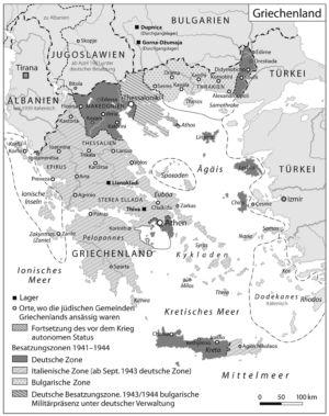 Griechenland 1941 bis 1945