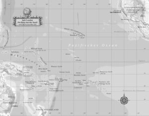 Pazifischer Ozean 1907 und 1908