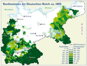 Deutsches Reich 1885