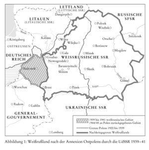 Weißrussland 1920 bis 1945
