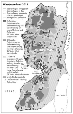 Westjordanland 2015