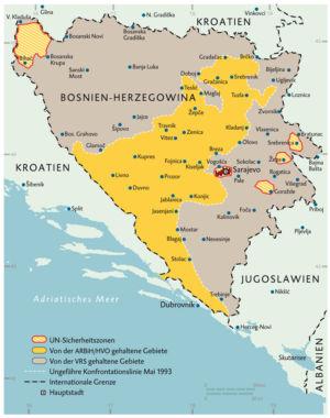 Bosnien und Herzegowina 1993