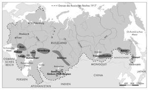 Russland 1917 Kosaken