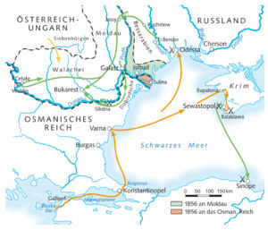 Krimkrieg 1853 bis 1856