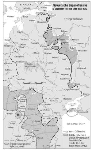 Ostfront 1941 bis 1942