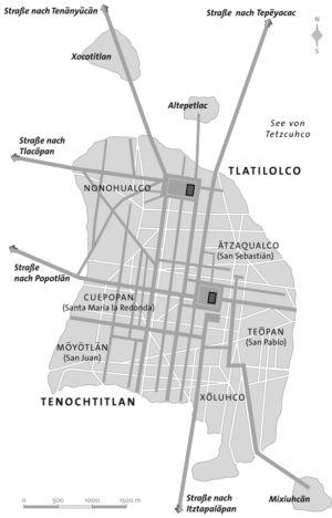Tenochtitlan Stadt