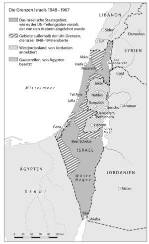 Israel 1948 bis 1967