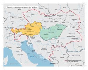 Österreich und Ungarn nach dem Ersten Weltkrieg
