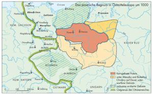 Polen um 1000