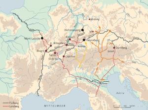 Wege der Alpen