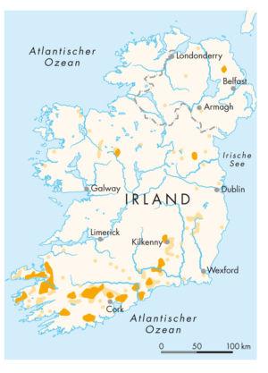 Irland Schriften