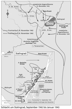 Umgebung von Stalingrad