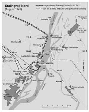 Norden von Stalingrad 1942