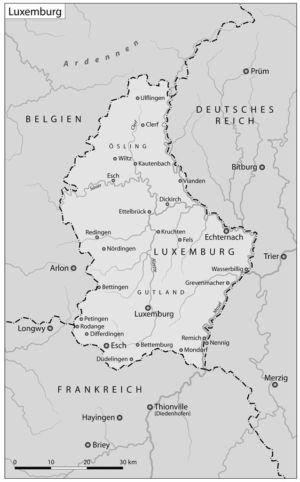 Luxemburg im Zweiten Weltkrieg