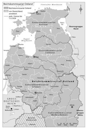 Reichskommissariat Ostland 1941