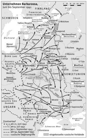 Angriff auf die Sowjetunion 1941