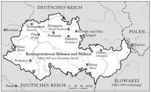 Protektorat Böhmen und Mähren 1939