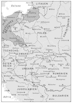 Osteuropa 1937