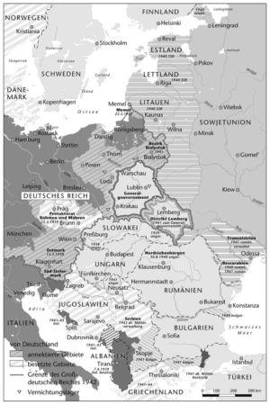 Osteuropa 1939 bis 1944