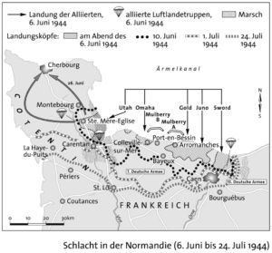 Landung in der Normandie 1944